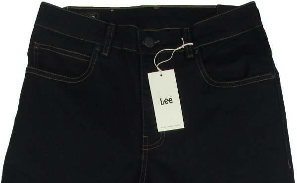 Calça Lee Chicago Masculina Reta Tradicional - Ref. 1105L (GRAFITE) - Jeans Fino e Macio (Algodão - Poliester - Elastano)