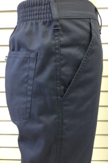 Calça Meio Elástico Cherne - 100% Algodão - Ref. 4156 Marinho
