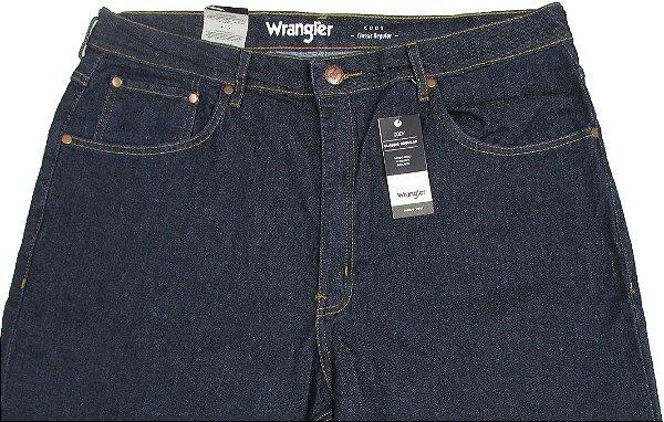Calça Jeans Masculina Wrangler Reta Tradicional - Ref. WM1600 (PLUS SIZE) - Linha Cody - Algodão / Poliester / Elastano  - Jeans Fino
