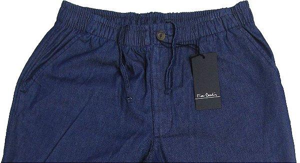 Calça de Elastico  Masculina Pierre Cardin - Ref. 430P952 Stone - 100% Algodão