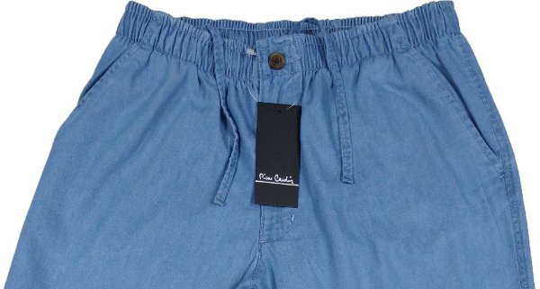 Calça de Elastico Masculina Pierre Cardin - Ref. 430P952 Delave - 100% Algodão