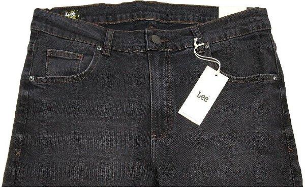 Calça Lee Mark Masculina - Ref. 1311L Chumbo - Algodão / Elastano - Jeans Macio