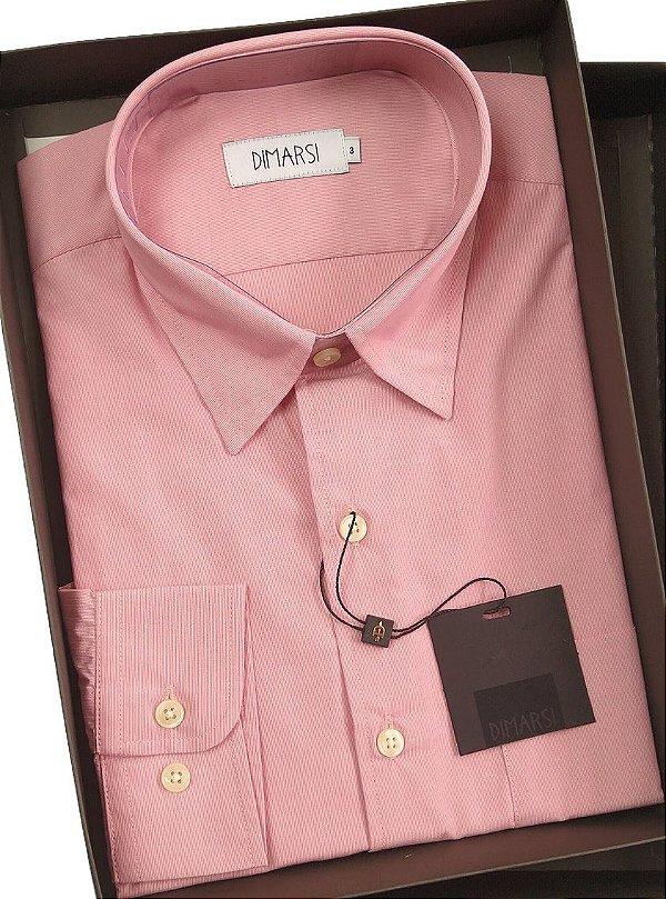 Camisa Dimarsi Com Bolso - Manga Longa - 100% Algodão - Ref. 8484/11