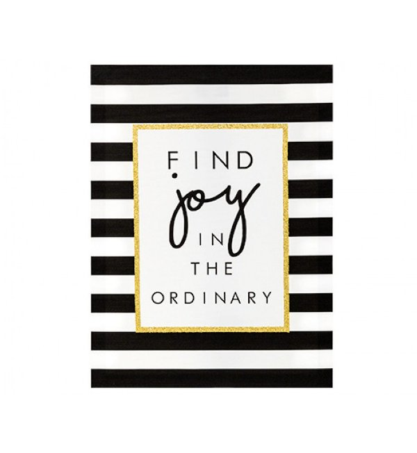 QUADRO EM CANVAS -FIND JOY IN THE ORDINARY