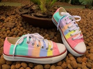 TÊNIS ALL STAR TIE DYE CANDY COLOR