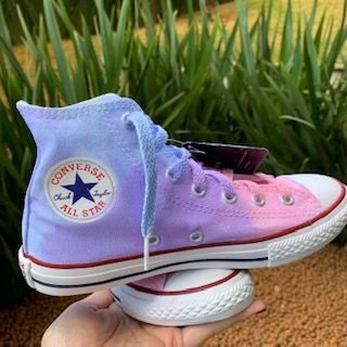 ALL STAR CONVERSE CANDY COLOR TIE DYE