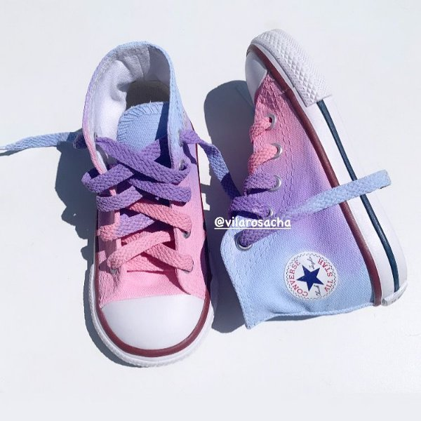 ALL STAR CONVERSE CANDY COLOR TIE DYE - Infantil