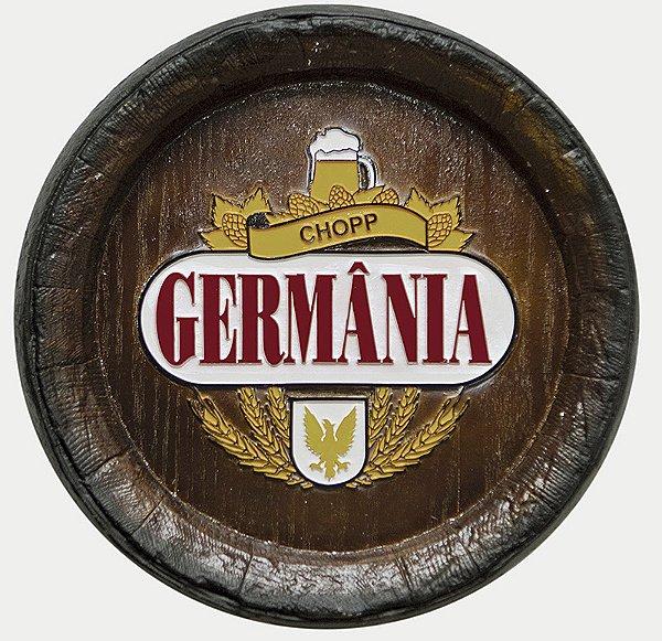 Barril de parede grande em Fibra KG - Decoração - Germania Cerveja