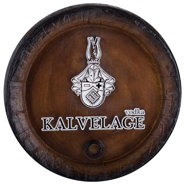 Barril de parede grande em Fibra KG - Decoração - Vodka Kalvelage