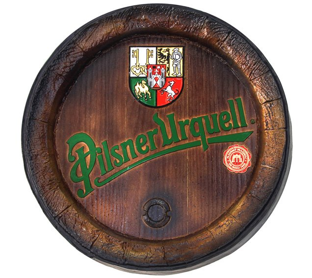 Barril de parede grande em Fibra KG - Decoração - Pilsner Cerveja