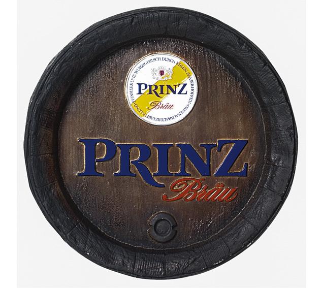 Barril de parede grande em Fibra KG - Decoração - Prinz Cerveja