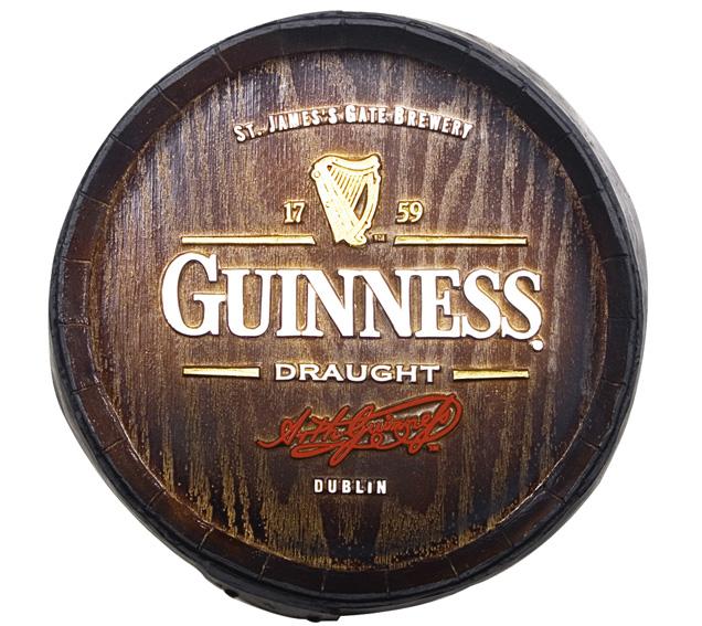 Barril Decorativo KG - Guinness