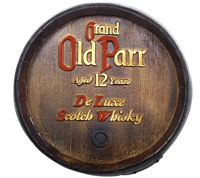 Barril Decorativo KG - Old Parr