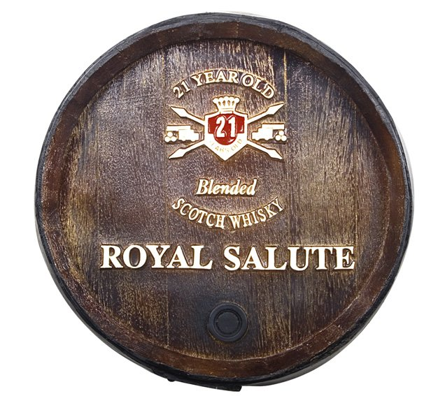 Barril Decorativo KG - Royal Salute