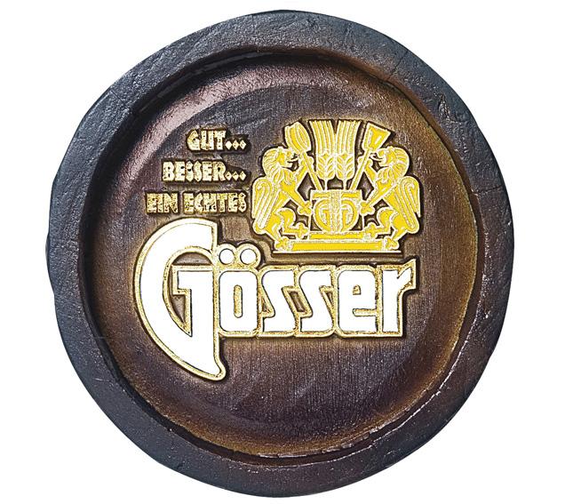 Barril Mini de parede em resina KG - Decoração – Gosser Cerveja