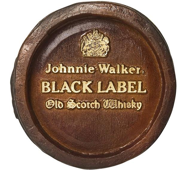 Barril Mini de parede - Johnnie Whisky