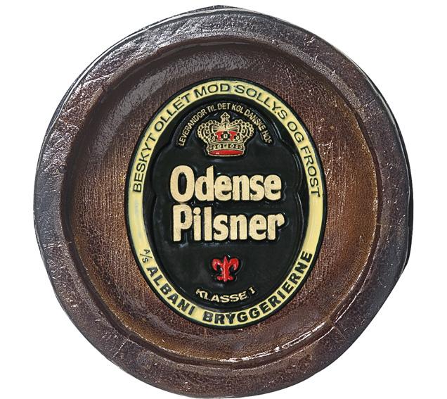 Barril Mini de parede em resina KG - Decoração – Odense Cerveja
