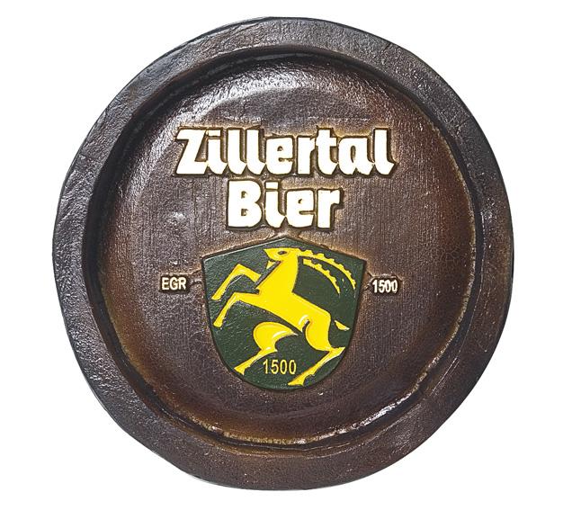 Barril Mini de parede em resina KG - Decoração – Zillertal Cerveja