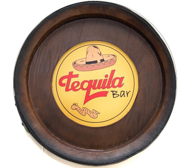 Barril Backlight Luminoso KG de parede - Tequila - Bivolt