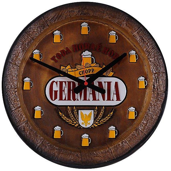 Relógio KG Barril de parede grande em Fibra - Germania