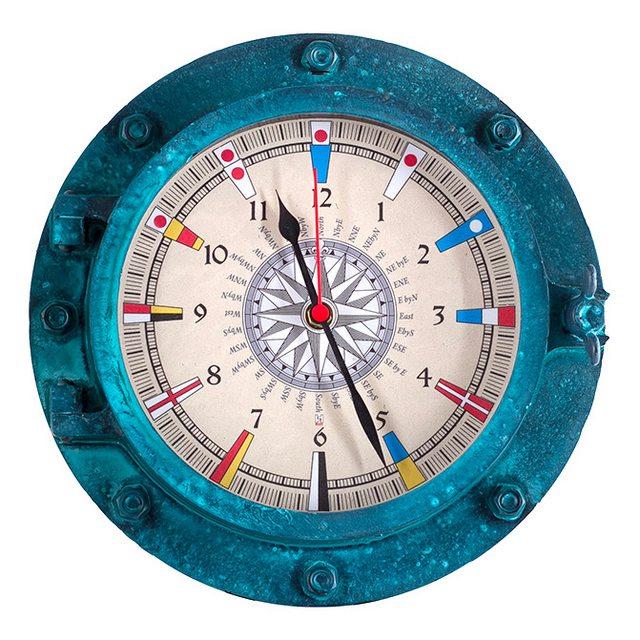 Relógio Escotilha decorativa - Náutica - CIS