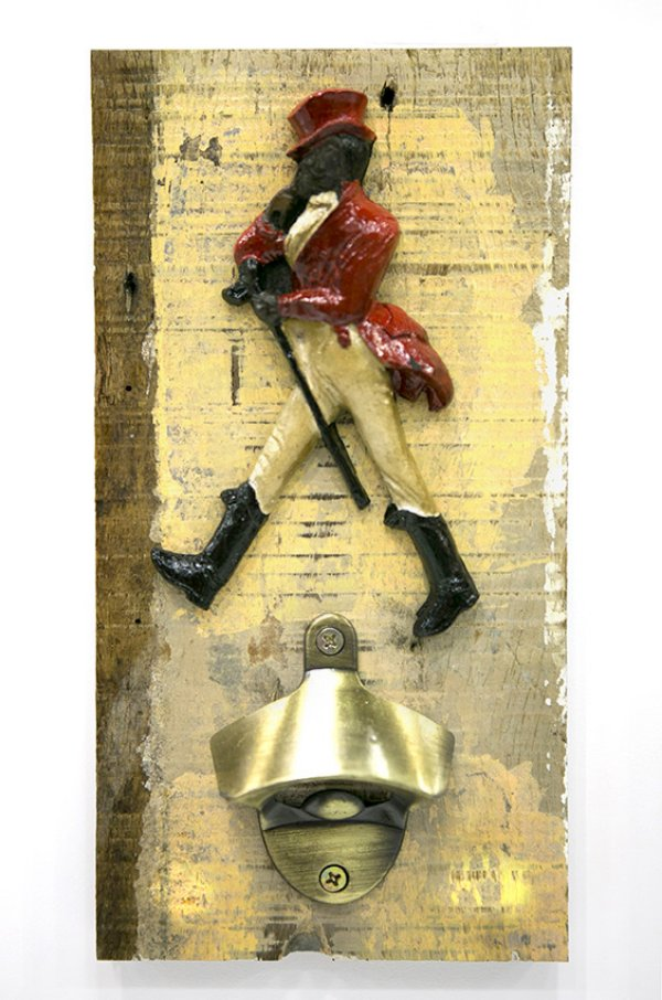 Abridor de Garrafas de Parede decorativo Johnnie Walker