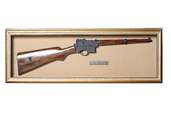Quadro de Arma Resina KG Pistol Carabine Mannlicher cal. 7,65 - 1903 - Clássico