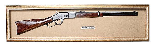 Quadro de Arma Resina KG Winchester - Clássico