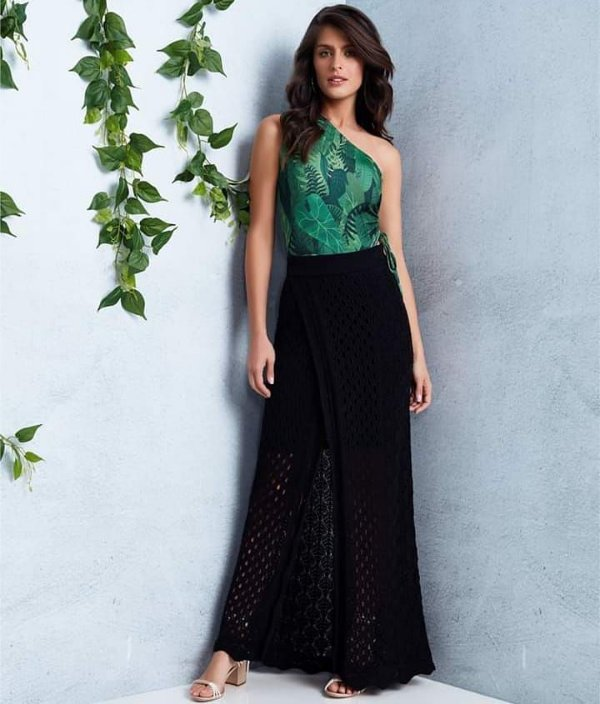 aa0ea9948c saia preta longa tricot - Sonho de Maria boutique