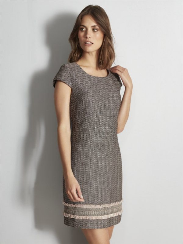 Vestido de tweed Fato Básico