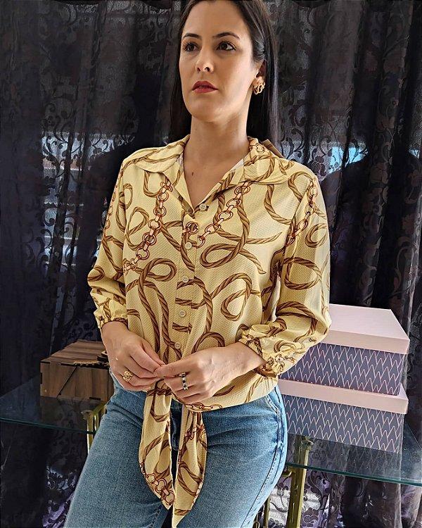 camisa feminina nozinho