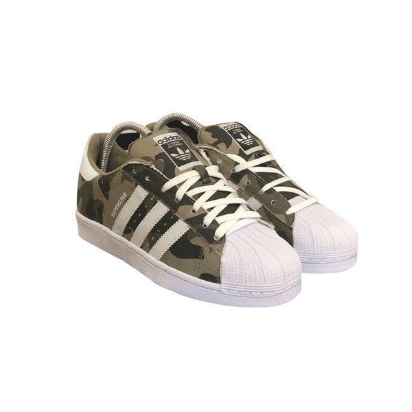 Tênis Adidas Superstar Foundation Camuflado - Importado