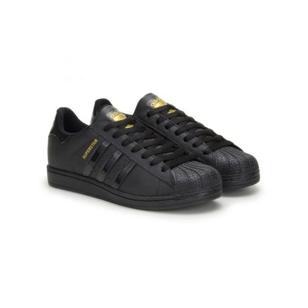 Tênis Adidas Superstar Foundation All Black - Importado