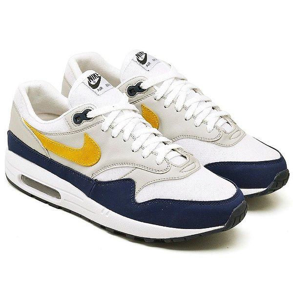Tênis Nike Air Max 901 Cinza e Amarelo