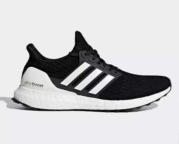 Tênis Adidas Ultraboost 4.0 Preto/Branco
