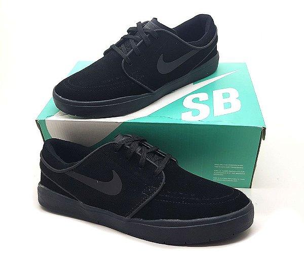 Tênis Nike SB Janoski All Black
