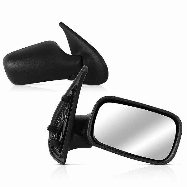 Espelho Retrovisor Palio 3P 96/00 1267.0 Lado Esquerdo Fixo