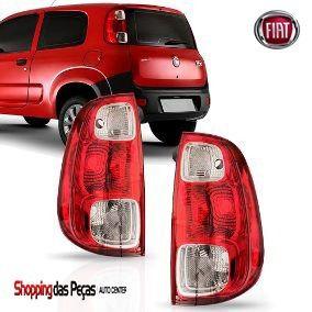 Lanterna Fiat Uno Novo Cristal Ld Ou Le 5202789