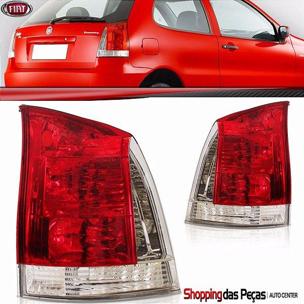 Lanterna Tras Palio 2004 A 2012 Bicolor Vermelho/branco Ld