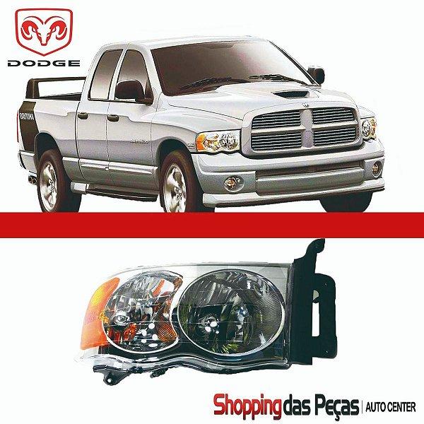 Farol Dodge Ram 1500 2002 A 05 Original Lado Direito Carona