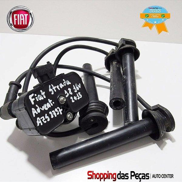 Bobina Ignição Fiat Palio/unofire/ Strada C/ Cabos 55226876