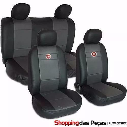 Capa Para Banco Do Carro Fiat (nylon Com Curvin)