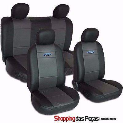 Capa Para Banco Do Carro Ford (nylon Com Curvin)