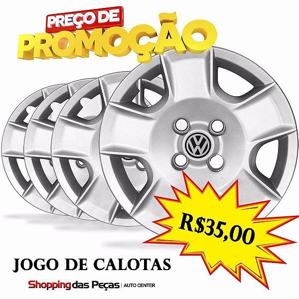 Jogo De Calota Automotiva Aro 13
