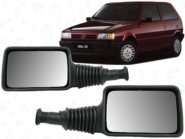 Retrovisor Fiat Uno Ep Sx Young 91 93 95 97 99 00 Fixo Lado Direito Original