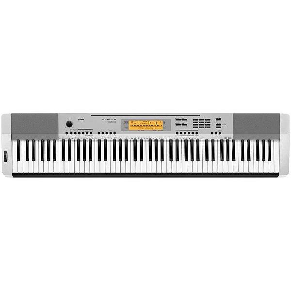 Piano Digital Casio Cdp-230r Prata