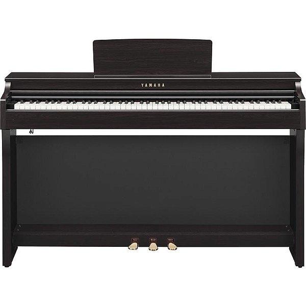 Piano Digital Yamaha Clavinova Clp-625r Dark Rosewood Com Estante E Banco