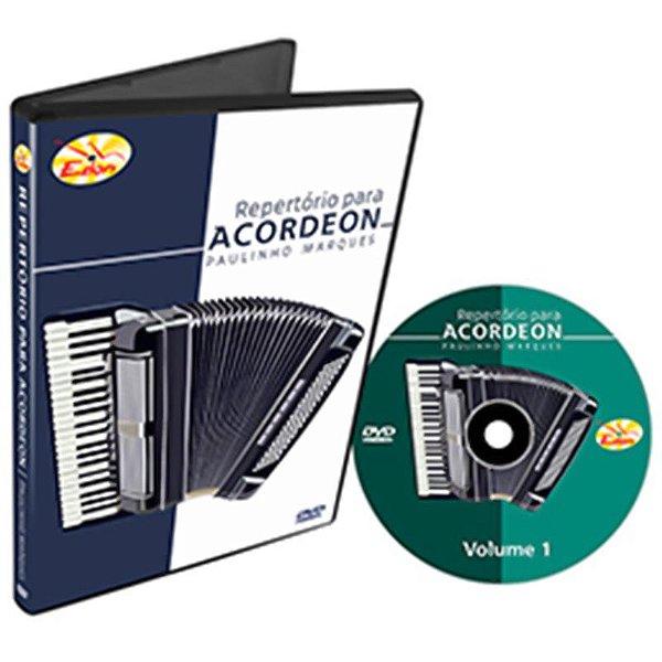 Curso DVD De Repertório Para Acordeon Vol 1 Edon