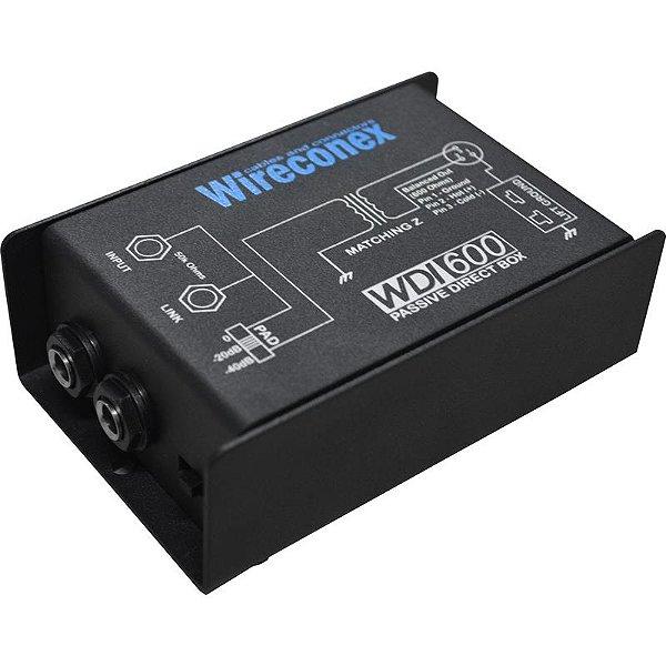 Direct Box Passivo Wireconex Wdi 600