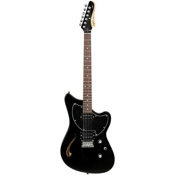 Guitarra Tagima Semi Acústica Jet Blues Preta